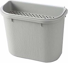 HAOXIANG Kitchen Hanging Trash Can, 2 In1 Small