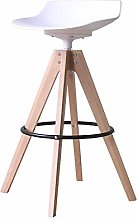 HAOYF Wooden Bar Stools Bar Stool Nordic Simple