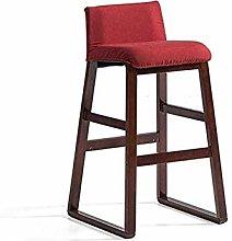 HAOYF Wooden Bar Stools Wood Bar Chair,Bar