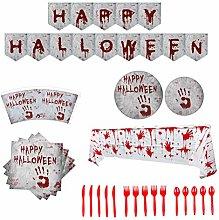 Haplws Halloween tablecloth, Bloody tablecloth
