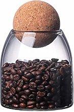 Haplws Spice Jars, Small Jars Glass Sealed Jar