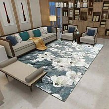 Happves Rug Modern Short-pile Abstract Paint