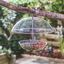 Happy Beaks Squirrel Proof Domed Bird Feeder