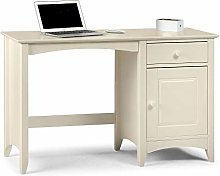 Happy Beds Cameo Stone White Finish Desk Laptop
