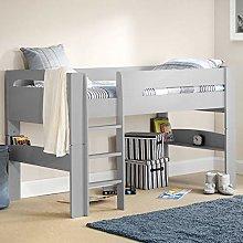 Happy Beds Pluto Wood Mid Sleeper Bed 3ft Single