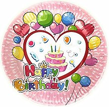 Happy Birthday Style 23cm Disposable Paper Party