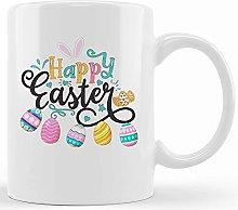 Happy Easter Day Mug, Easter Mug, Easter Egg Mug,
