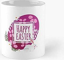 Happy Easter Easter Eggs Sunday Day Rabbit Egg