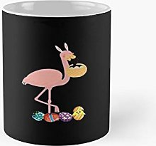 Happy Easter FLA-Mingo Egg Classic Mug