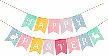 Happy Easter Joy Banner Spring Colorful Party