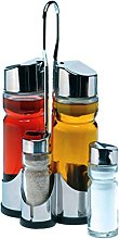 Happy Friends Oil and Vinegar Set, Stainless