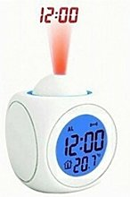 Happy Go-Mart Projection Alarm Clock Digital LCD