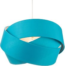 Happy Homewares - Designer Triple Ring Teal Cotton