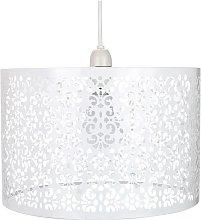 Happy Homewares - Marrakech Designed White Metal