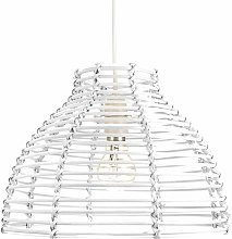 Happy Homewares - Traditional Basket Style White