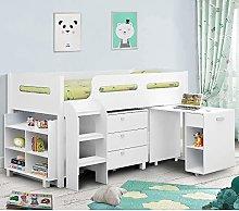 happybeds Kimbo White Sleep Station Children Kids