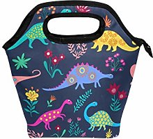 HappyCAT Dinosaur Lunch Box Insulated Cooler Lunch