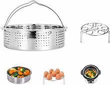 HapWay Stainless Steel Steamer Basket with Egg