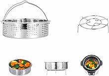 HapWay Stainless Steel Steamer Basket with Steam