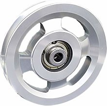 harayaa Sliding Pulley Wheels, Alloy for DIY