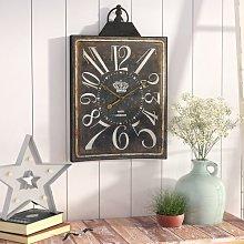 Harbor Wall Clock Borough Wharf