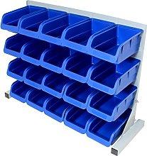 Hardcastle 20pce Free Standing Blue Plastic