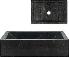 Hardware Plumbing FixturesSink 45x30x12 cm Marble
