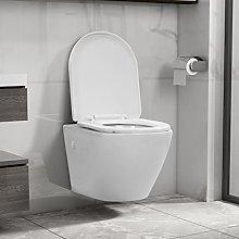Hardware Plumbing FixturesWall Hung Rimless Toilet