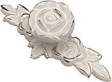Hardware Rose Flower Cabinet Knobs with Ancient