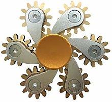 Hardware Six Gear Spinning Fingertip Spinning Top