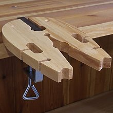 HARDWOOD BENCH PIN VICE (HS) : Clamp Jewellers