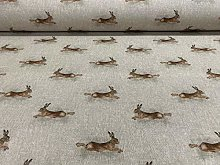 "Hare Drove Linen/Cotton 140cm/54"" Curtain"