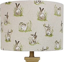 Hares Country Drum Lampshade Lightshade (20 cm