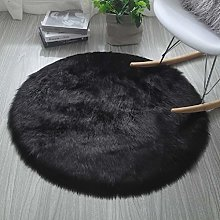 HARESLE Soft Floor Rugs Faux Fur Fluffy Small Rug