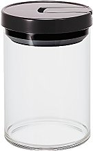 Hario 800 ml Glass Canister, Black