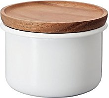 Hario BCN-100-W Tea & Coffee Canister, White