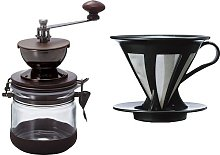 Hario Canister Coffee Grinder Cafeor Dripper 02