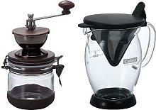 Hario Canister Coffee Grinder Cafeor Dripper Po