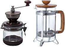 Hario Canister Coffee Grinder Olive Wood Café