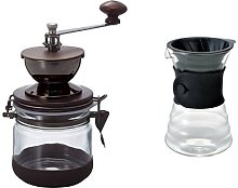 Hario Canister Coffee Grinder V60 Drip Coffee