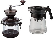 Hario Canister Coffee Grinder V60 Drip in Pour Over