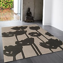 Harlequin 2C Floral Rug by Asiatic