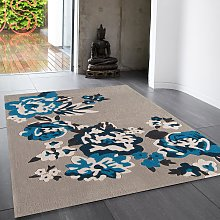 Harlequin 6B Floral Rug by Asiatic