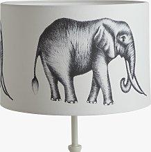 Harlequin Elephant Lampshade