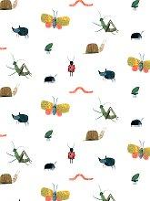 Harlequin Garden Friends Wallpaper, HLTF112635