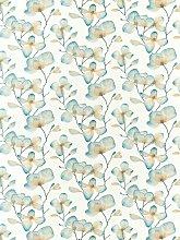 Harlequin Kienze Furnishing Fabric, Teal/Rust