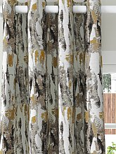 Harlequin Takara Pair Lined Eyelet Curtains,