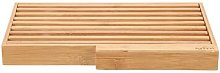 Harless Bamboo Bread Board with Crumb Catcher and