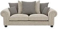 Harley Fabric 3 Seater Scatter Back Sofa