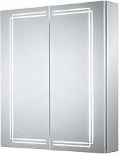 Harlow Double Door Diiffused LED Mirror Cabine
